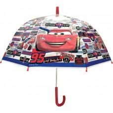 Ομπρέλα Παιδική Διάφανη 48cm Disney Cars