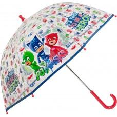 Ομπρέλα Παιδική Διάφανη 45cm PJ Masks