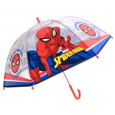 Ομπρέλα Παιδική Διάφανη 45cm Spinderman
