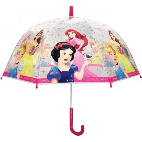 Ομπρέλα Παιδική Διάφανη 48cm Disney Princess