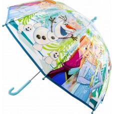 Ομπρέλα Παιδική Διάφανη 45cm Disney Frozen