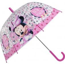 Ομπρέλα Παιδική Διάφανη 38cm Disney Minnie Mouse