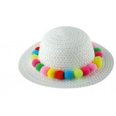 Παιδικό Καπέλο Λευκό