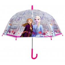 Ομπρέλα Παιδική Διάφανη 48cm Disney Frozen