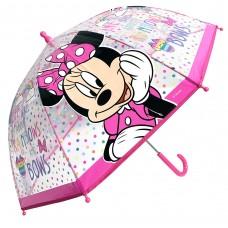 Ομπρέλα Παιδική Διάφανη 45cm Disney Minnie Mouse