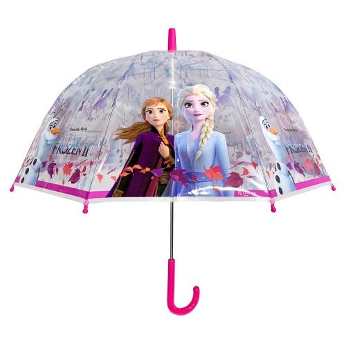 Ομπρέλα Παιδική Διάφανη 48cm Disney Frozen Ομπρέλες Κορίτσι 3496