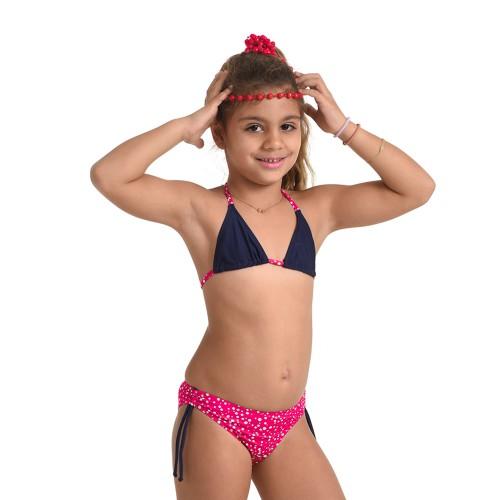Παιδικό μαγιώ 48029- Μπλε/Φούξια Μαγιώ Κορίτσι 48029