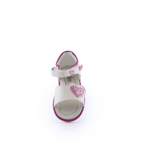 Παιδικά πέδιλα Meridian 7394023-White/Fuchia Παιδικά πέδιλα Meridian