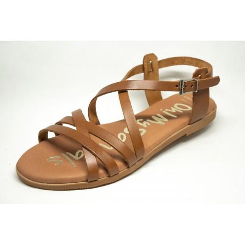 Πέδιλα Oh My Sandals 4801-Καφέ Πέδιλα Oh My Sandals