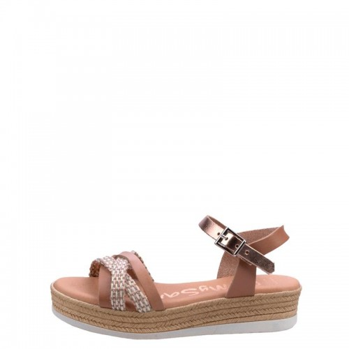 Πέδιλα Oh My Sandals 4842-Nude Πέδιλα Oh My Sandals