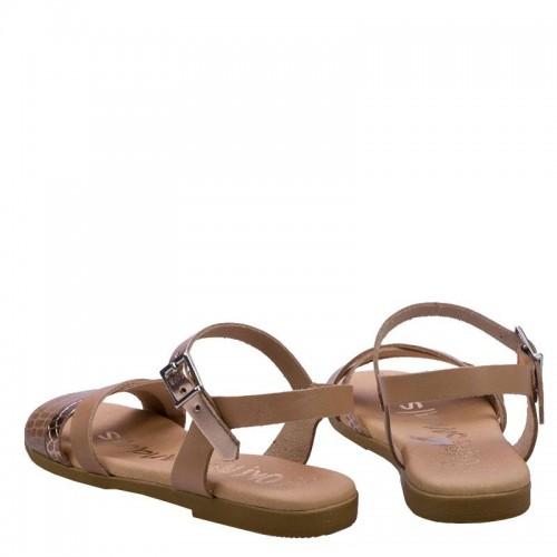 Πέδιλα Oh My Sandals 4905-Nude Πέδιλα Oh My Sandals