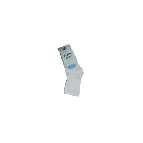 Κάλτσα Bebe Unisex Pretty Baby -Λευκό