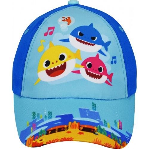 Καπέλο Τζόκευ Baby Shark-Μπλε