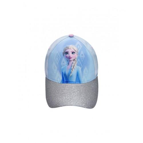 """Καπέλο """"Frozen - Elsa""""-Γαλάζιο/Glitter"""