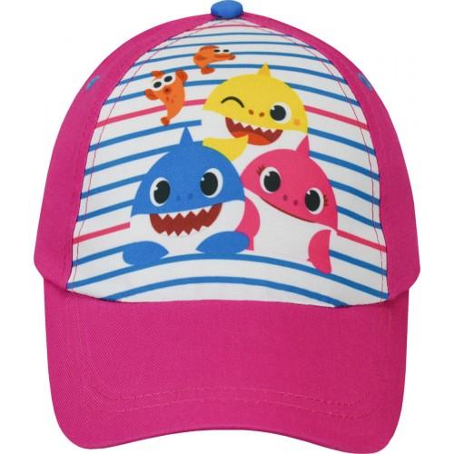 Καπέλο Baby Shark  - Φούξια