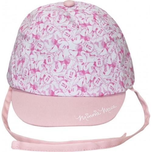 Καπέλο βρεφικό Minnie Mouse- Ροζ