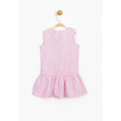 Παιδικό Φόρεμα Frozen-Pink
